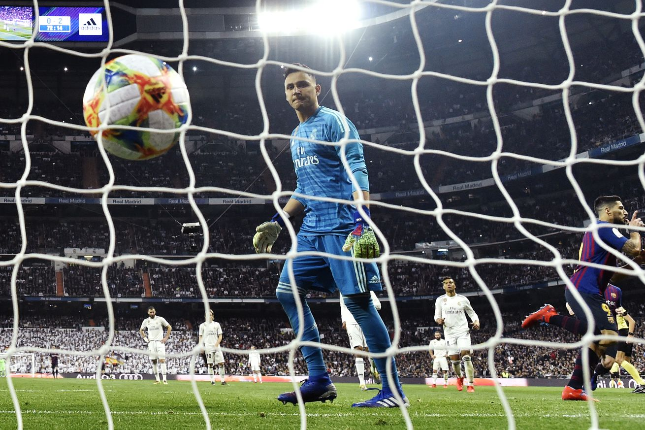Keylor Navas: ?I?m under contract and I?ve got faith that I will stay?
