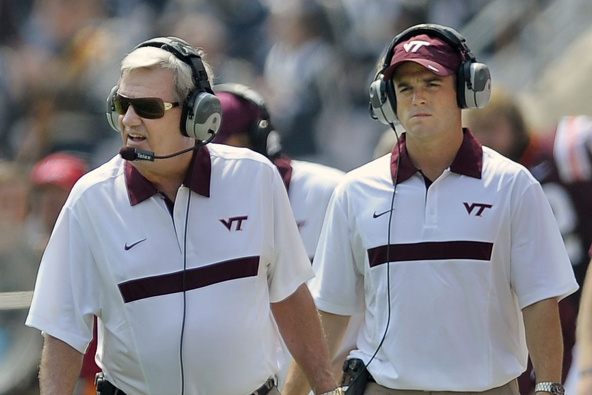 Virginia Tech plays Appalachian State in NCAA footbnall for their season opener