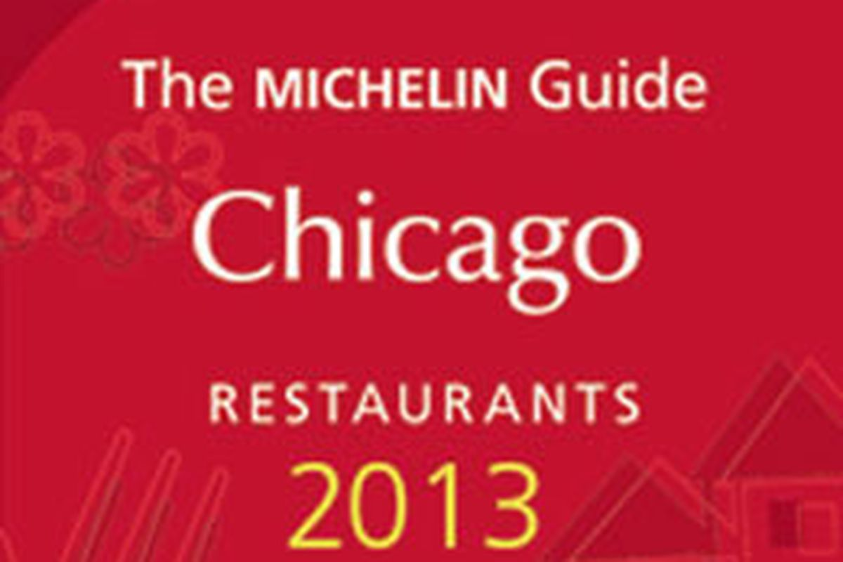 2013 Michelin Guide Chicago Star Ratings Unleashed Eater Chicago