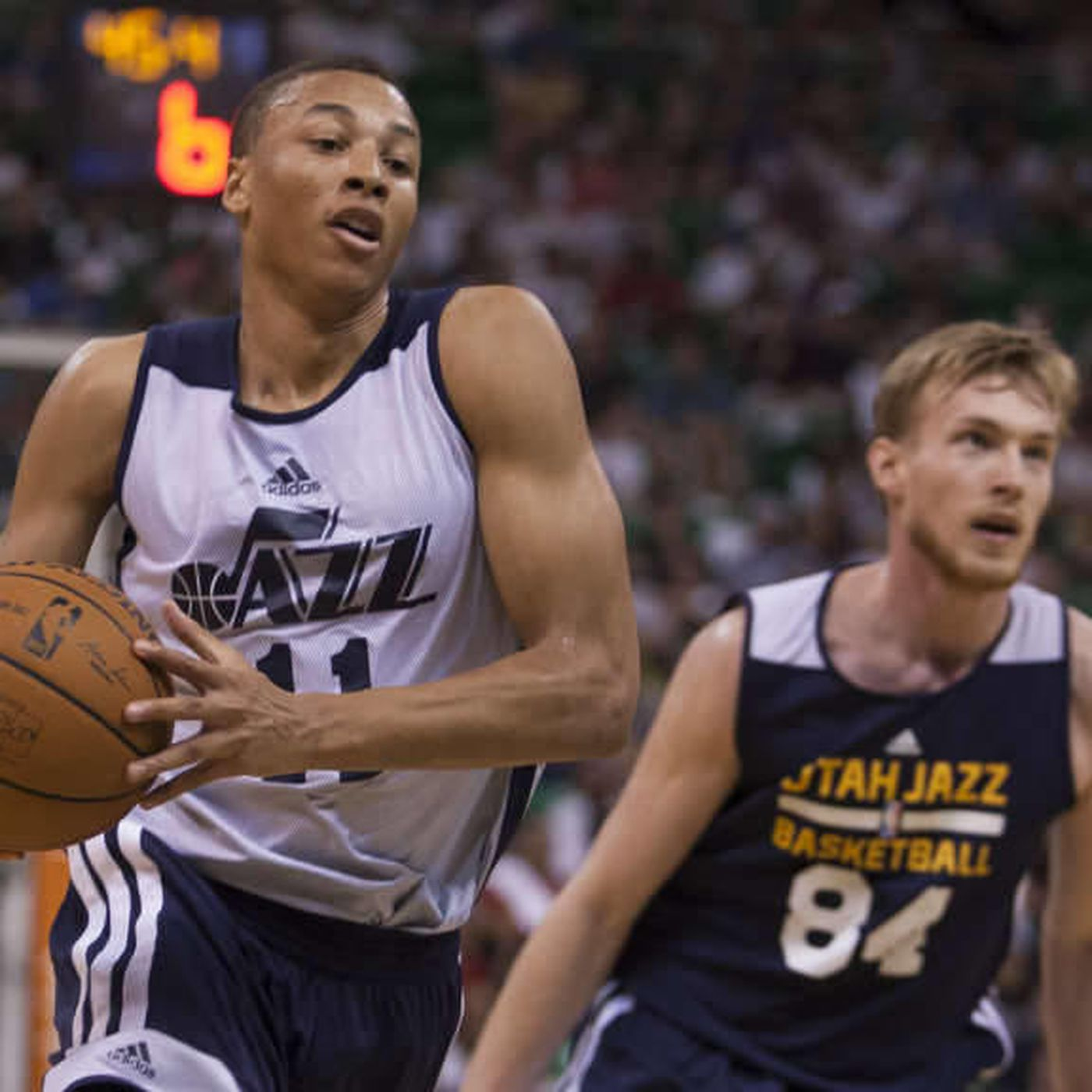 Dante Exum S First Start At Point Guard Includes Decent