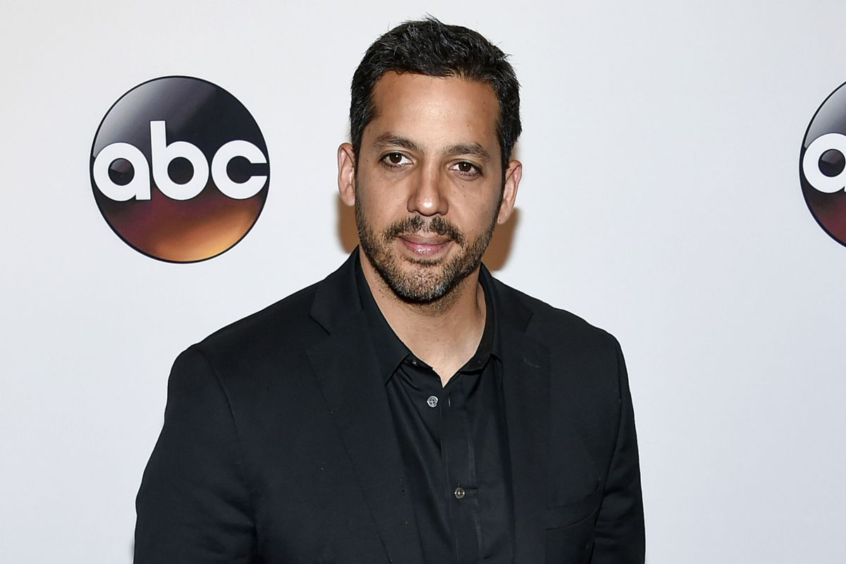 FILE - This May 17, 2016 file photo shows David Blaine at the ABC 2016 Network Upfront Presentation in New York. The New York Police Department is investigating sexual assault allegations against magician Blaine, authorities confirmed on Monday, April 1,