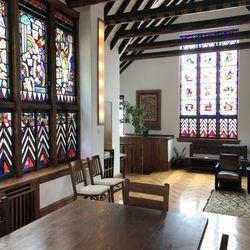 An Edgar Miller designed room at the Glasner Studio | Ji Suk Yi/ Sun-Times