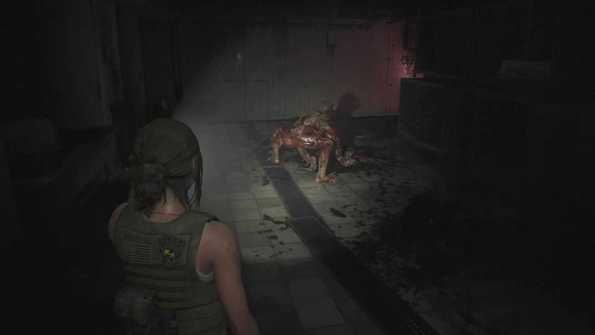 Resident Evil 2 2nd RunLickers in the Kennel