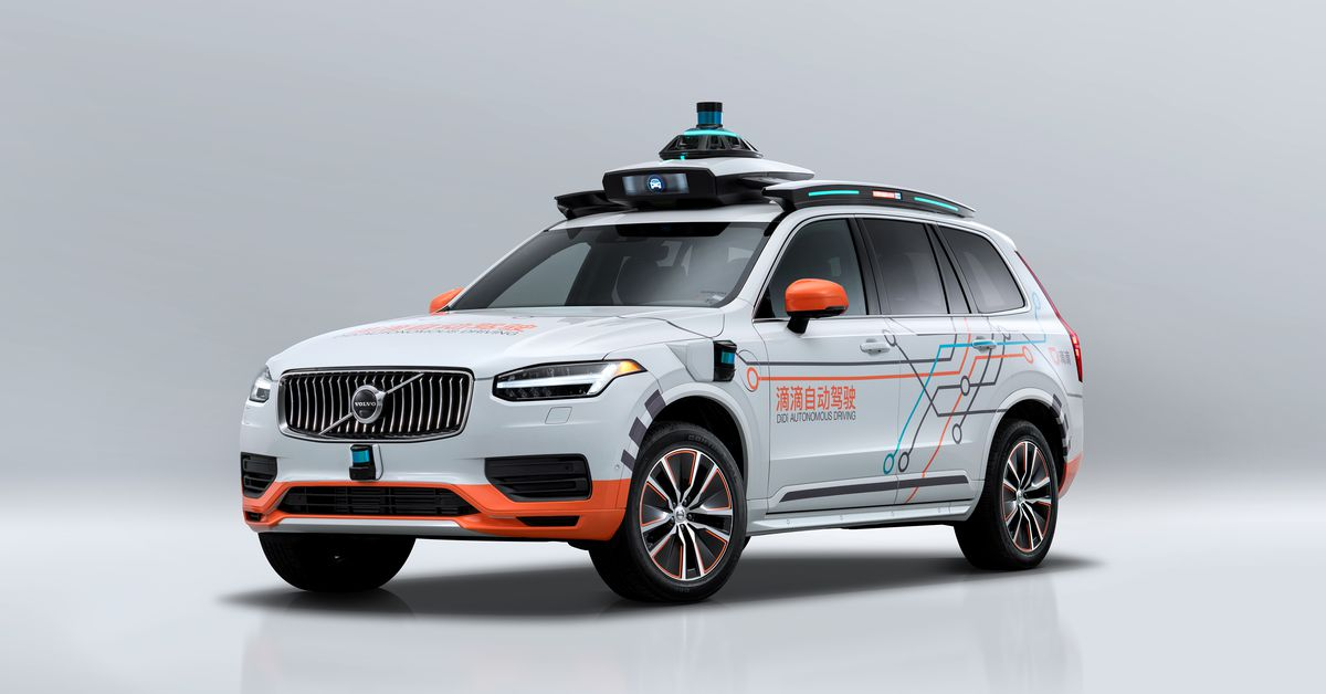 Volvo will provide cars for Didi's autonomous vehicle division