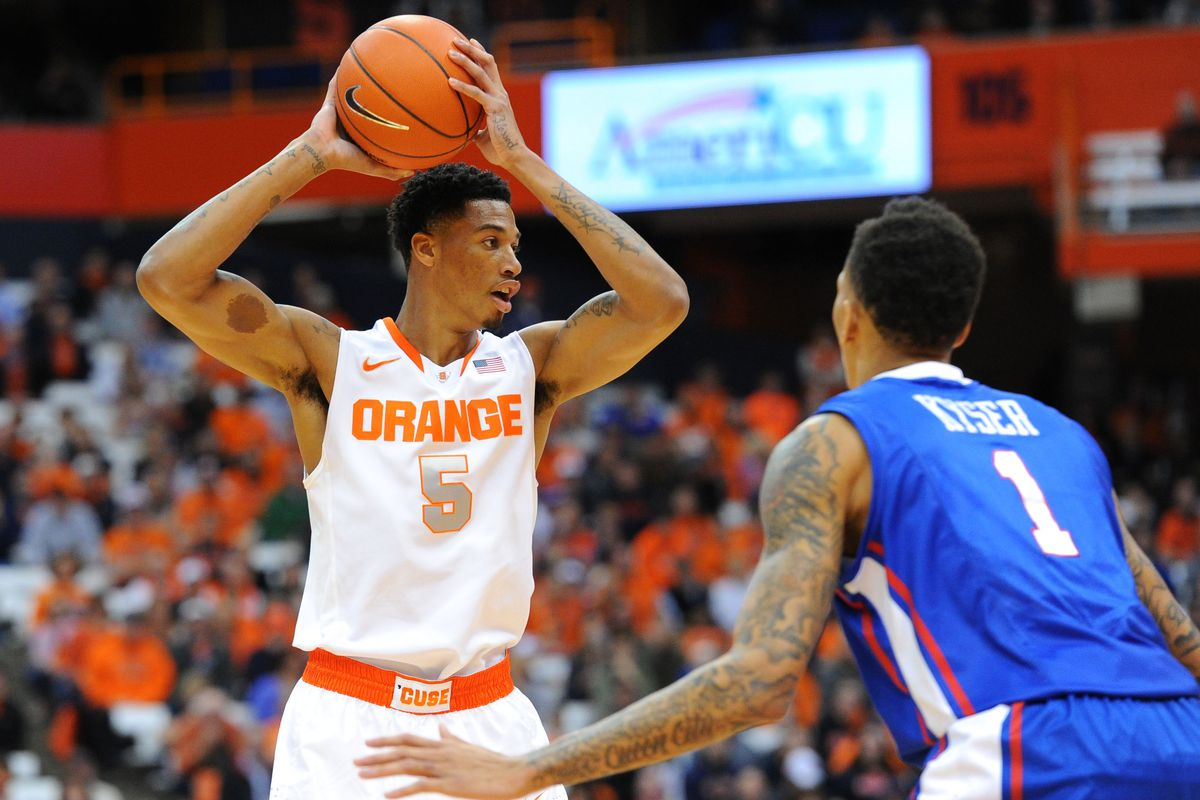 Syracuse Basketball Chris Mccullough To The Nba Troy Nunes Is An