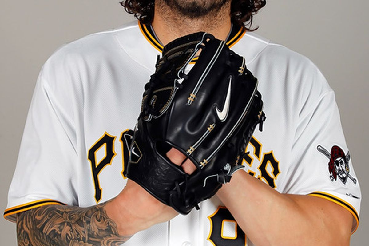 BRADENTON FL - FEBRUARY 20:  Pitcher Joe Beimel #97 of the Pittsburgh Pirates poses for a photo during photo day at Pirate City on February 20 2011 in Bradenton Florida.  (Photo by J. Meric/Getty Images)