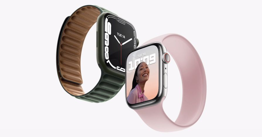 You are not allowed to use the Apple Watch Series 7's secret wireless dock