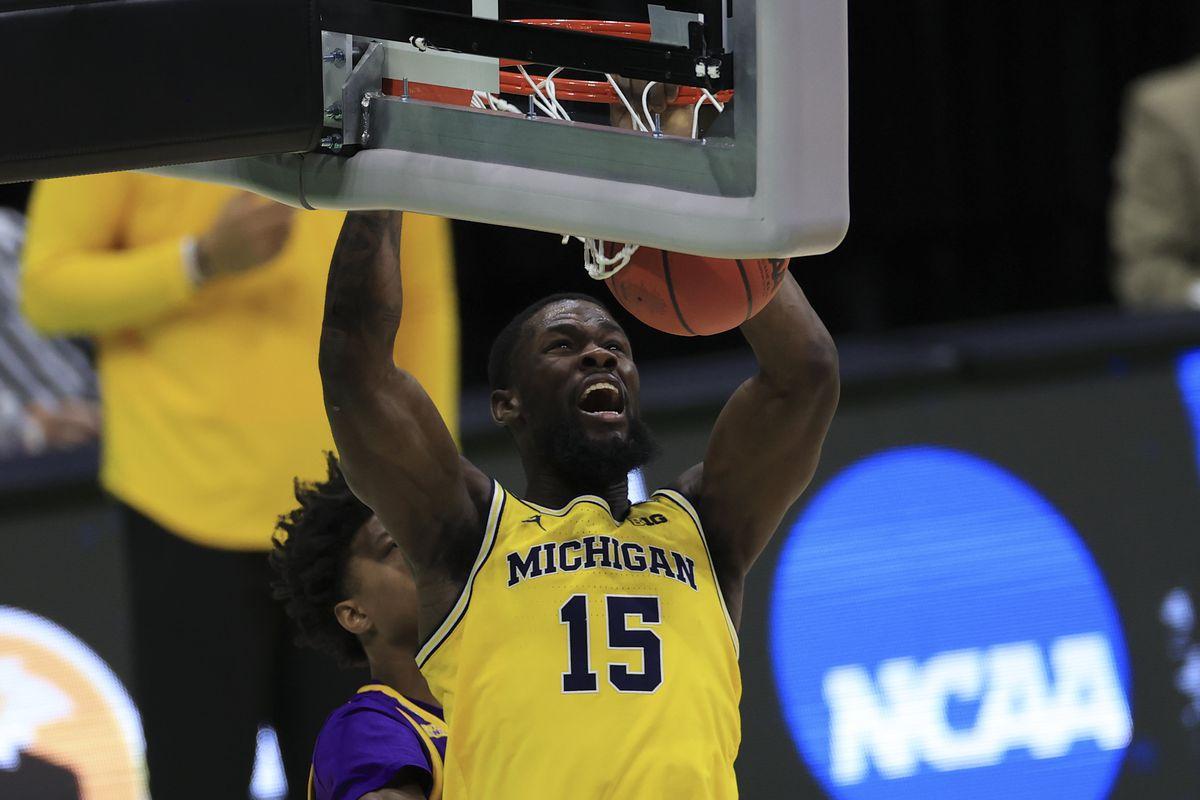 NCAA Basketball: NCAA Tournament-Louisiana State at Michigan