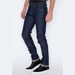 """<strong>Wings + Horns</strong> Straight Fit 5-Pocket Selvedge Denim Jean, <a href=""""https://shopacrimony.com/products/wings-horns-straight-fit-5-pocket-selvedge-denim-jean"""">$185</a> at Acrimony"""