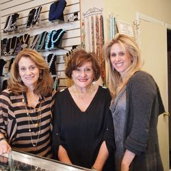 Store manager Amy Meinster (left), Barbara Ellick (center), Debbie Ellick Wallace (right)
