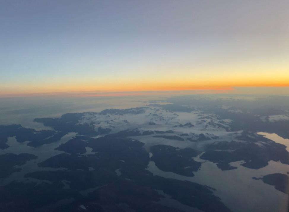 Sunset over the Chugach