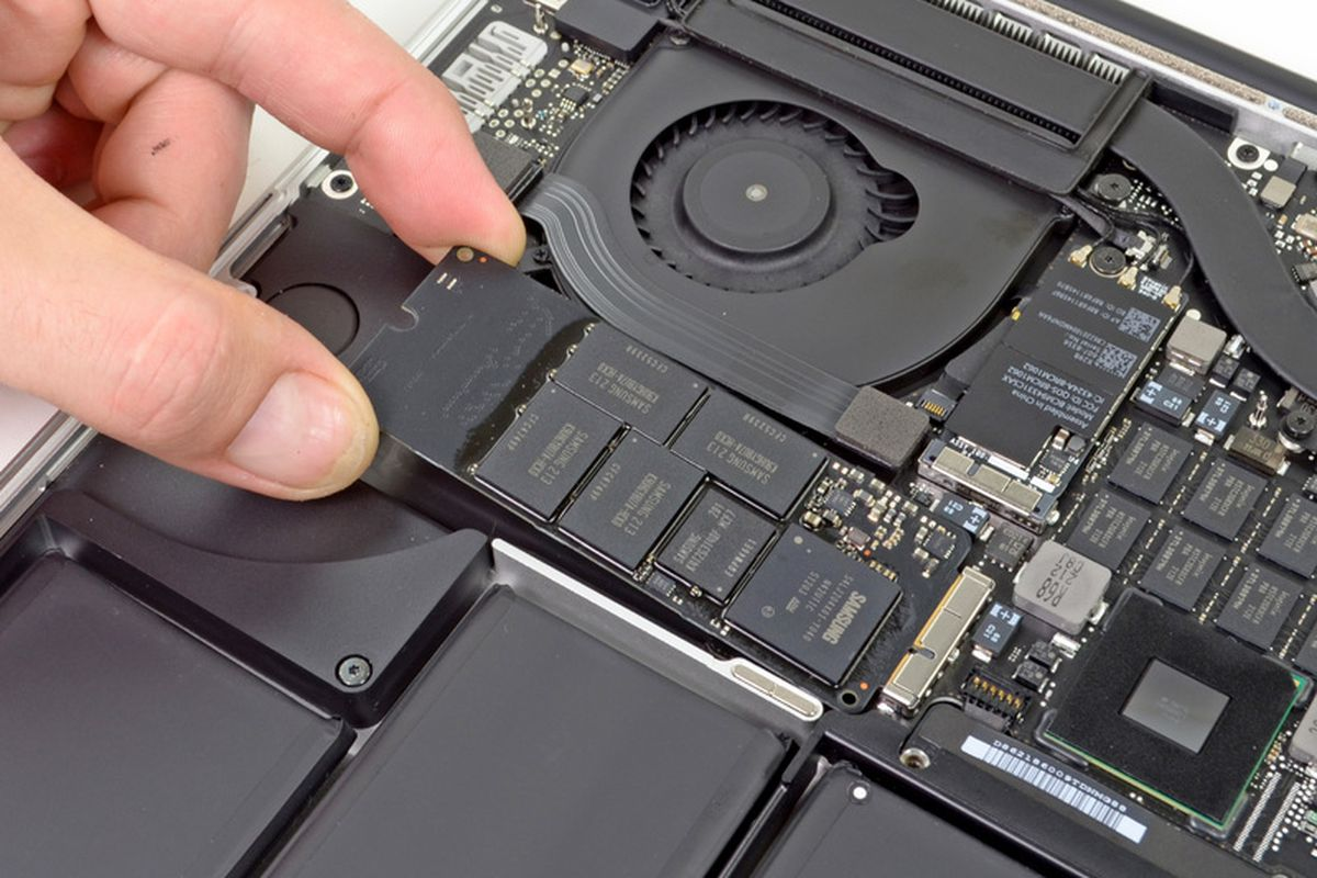 MacBook Pro with Retina display dismantled by iFixit