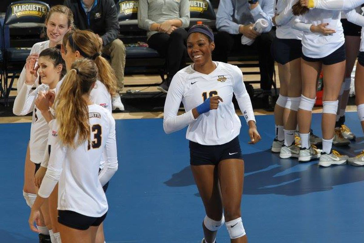 Taylor Louis and Marquette are headed to the tournament for the fifth straight season.