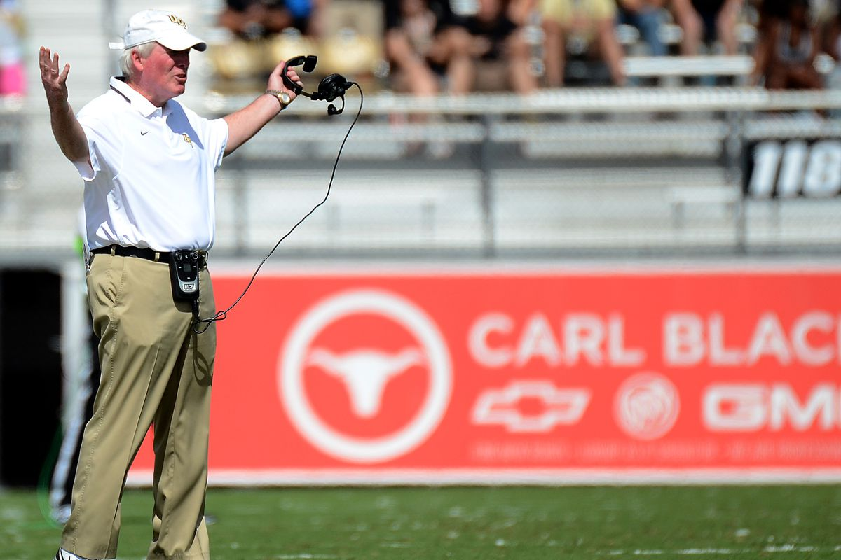 UCF Head Coach George O'Leary is wondering what happened to the 2015 season.