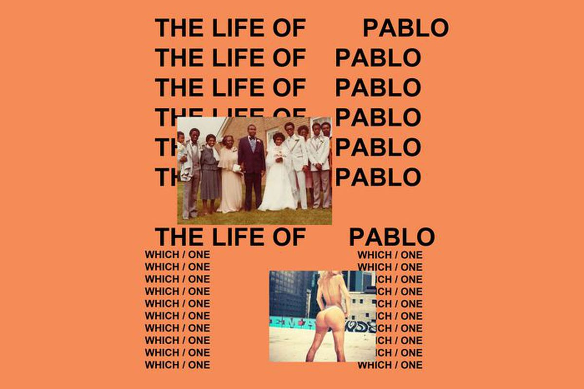 Kanye West 'The Life of Pablo' cover art