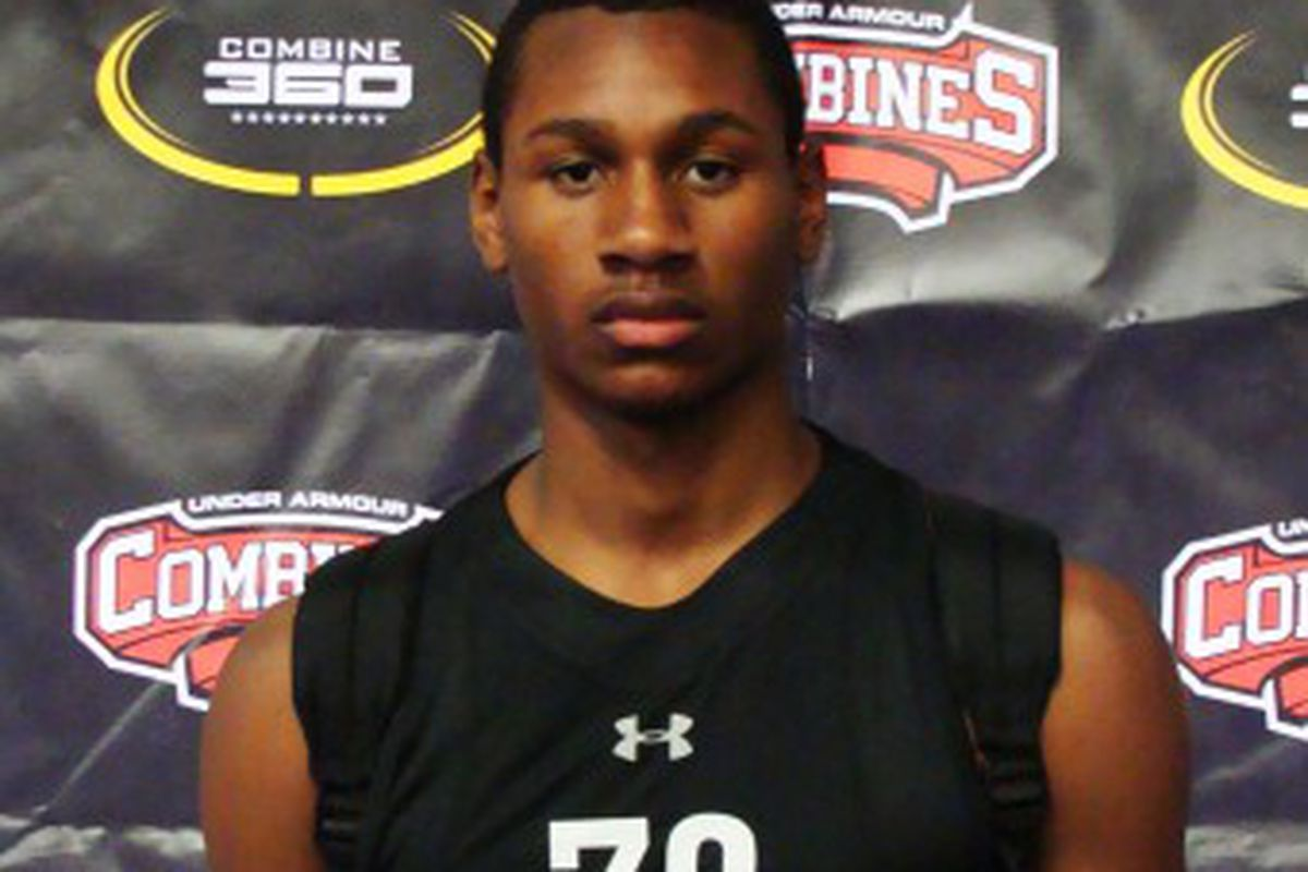 Skylar Spencer is one of the key prospects Gonzaga is looking at for the 2012 recruiting class (Photo courtesy of Under Armour)