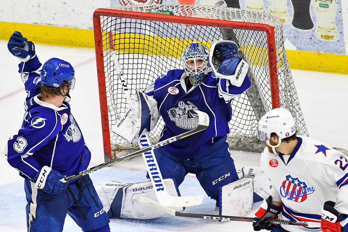 Ahl North Division Semifinals Game 3 Syracuse Crunch At Rochester