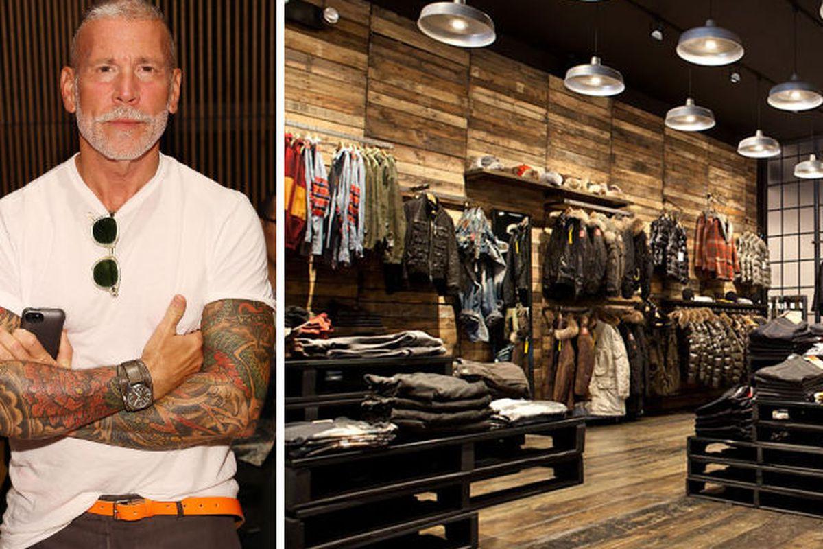 """Nick Wooster via Getty; Atrium via <a href=""""http://retaildesignblog.net/2012/10/18/atrium-kith-store-new-york/"""">Retail Design Blog</a>"""