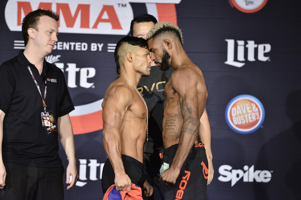Bellator 167 Results Taimanglo vs Caldwell MMA Fighting
