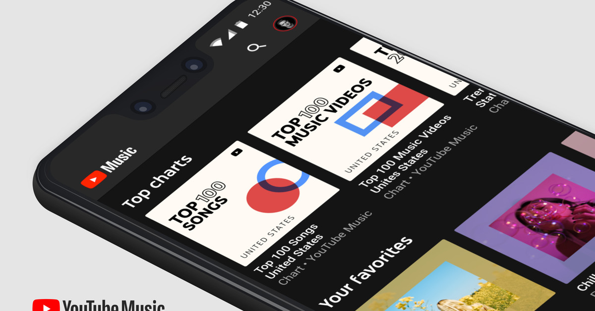 YouTube Music will now come preinstalled on Android devices