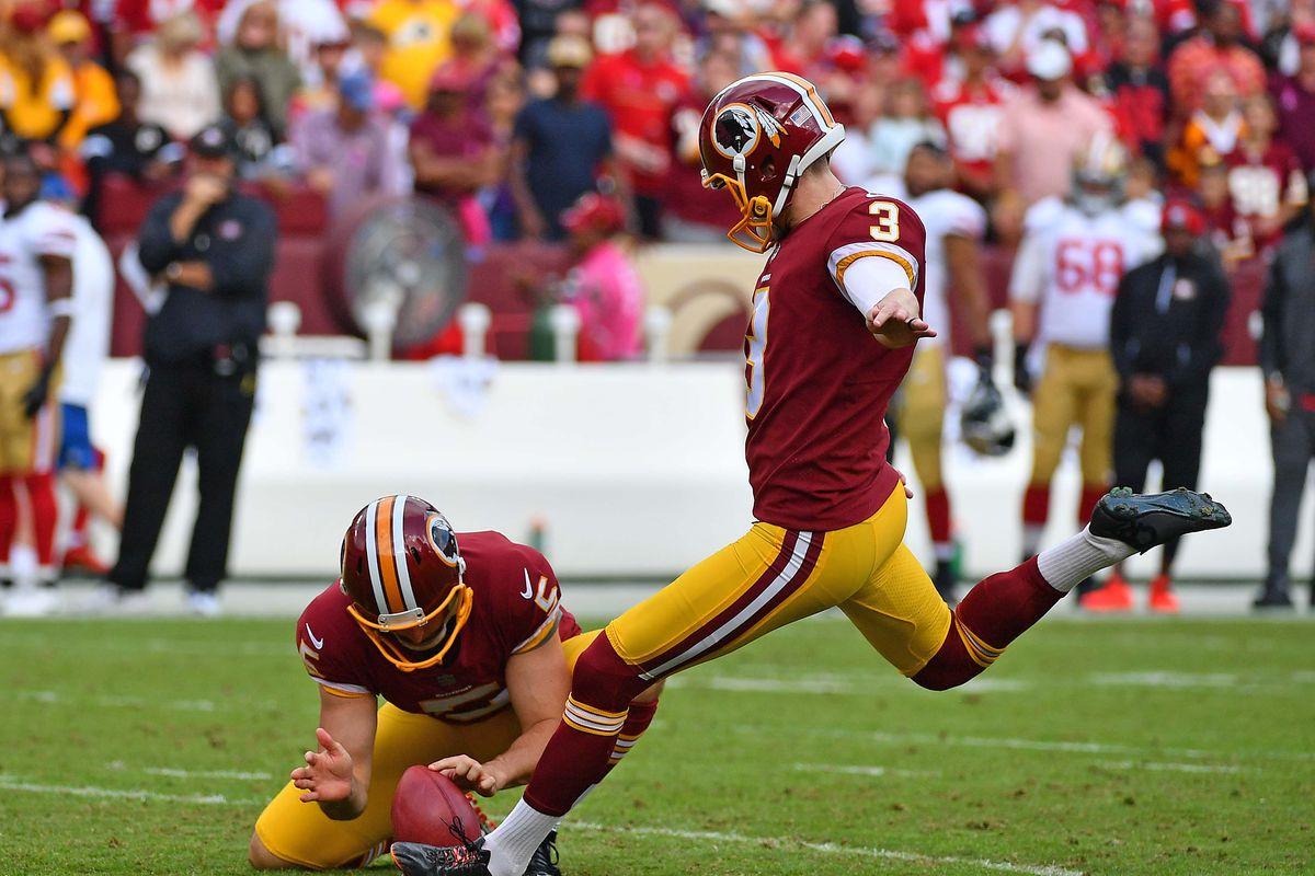 Washington Redskins Free Agency: Kicker Dustin Hopkins Re ...