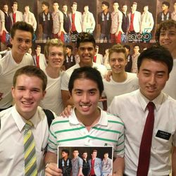 Beyond 5 recently returned from touring Asia. Four of the five members of the group are Mormon.