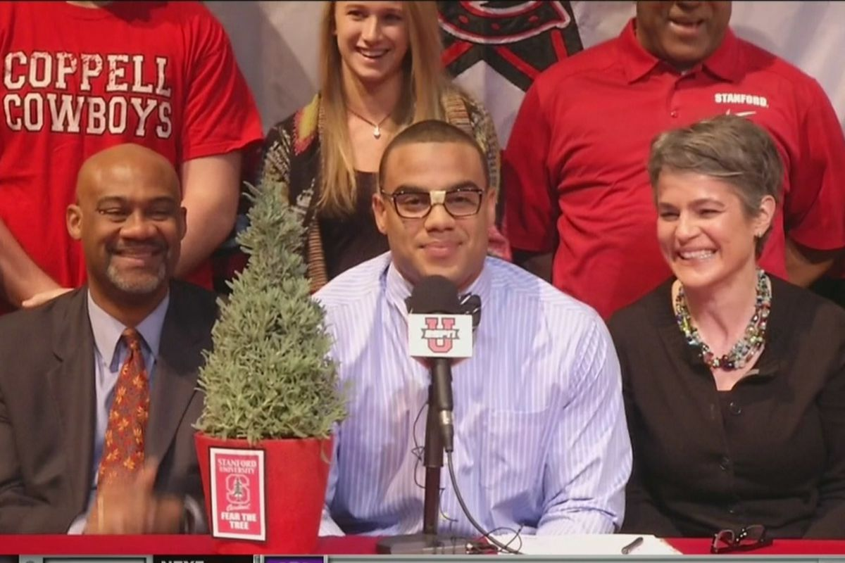 Five-star Solomon Thomas picks Stanford in the most Stanford way possible.