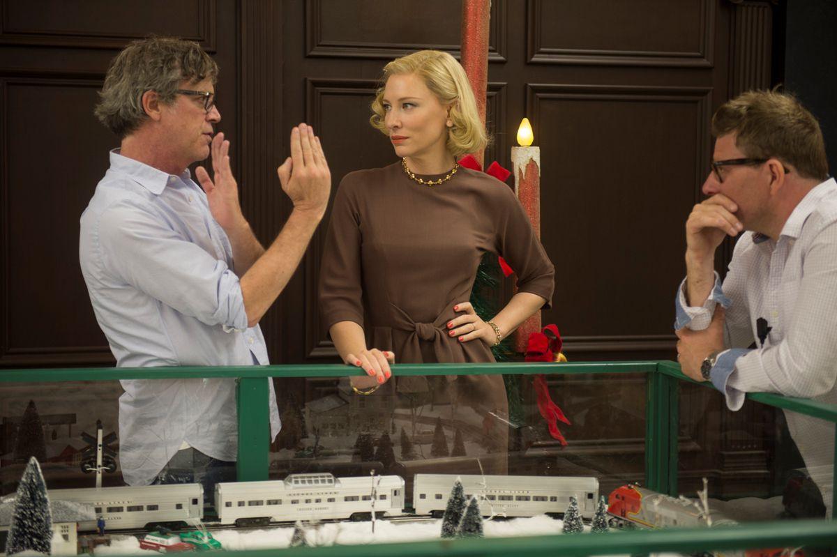 Cate Blanchett, Todd Haynes, Carol