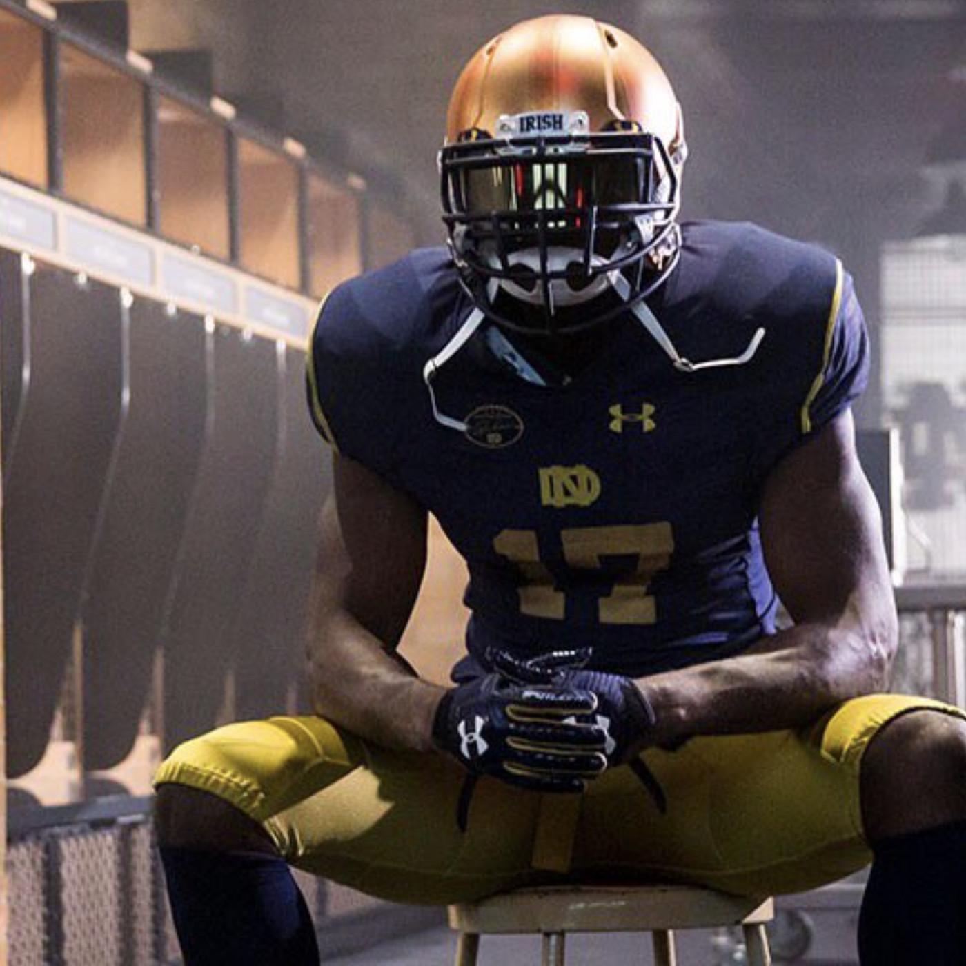 Notre Dame Unveils Alternate Football Uniform - One Foot Down 139cd8944