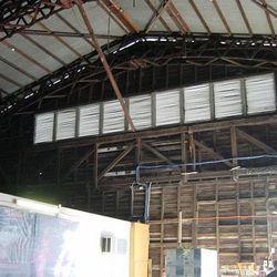Inside Hangar No. 7 in Brisbane, Australia, July 2003.