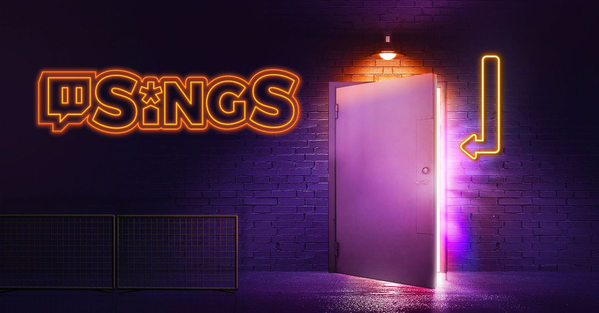 Karaoke game Twitch Sings will shut down at the end of the year