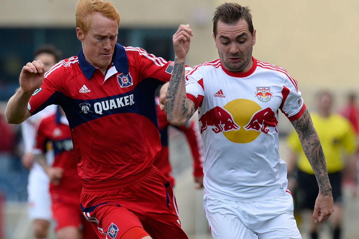 No Big Red today, but a win in New Jersey would mean he'd get two more cracks at RedBull in the playoffs.