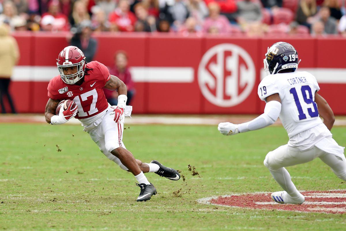 NCAA Football: Western Carolina at Alabama