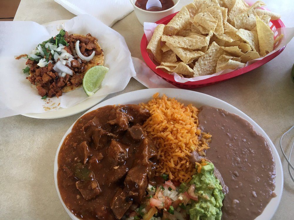 Food from Taqueria Chapala