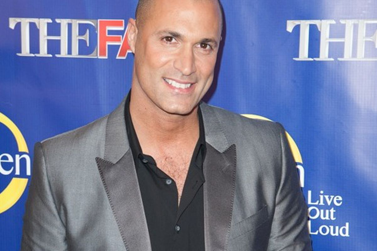 Nigel Barker at The Face premiere in New York last night