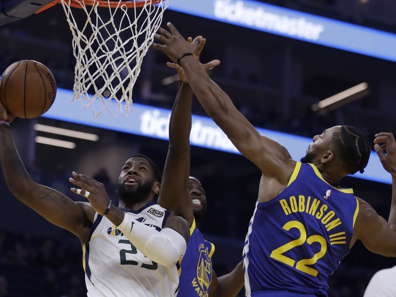 Utah Jazz beat Warriors with ease as tough stretch of NBA schedule looms