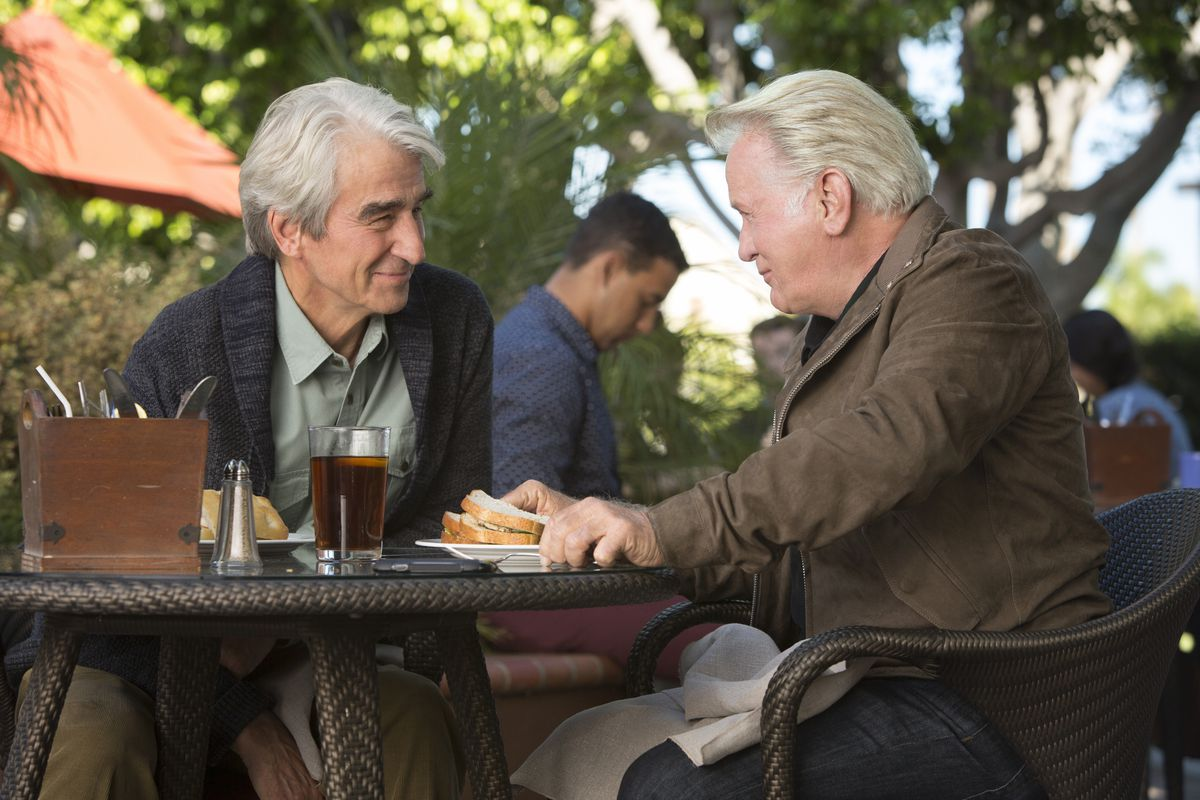 Grace and Frankie stars Martin Sheen and Sam Waterston.