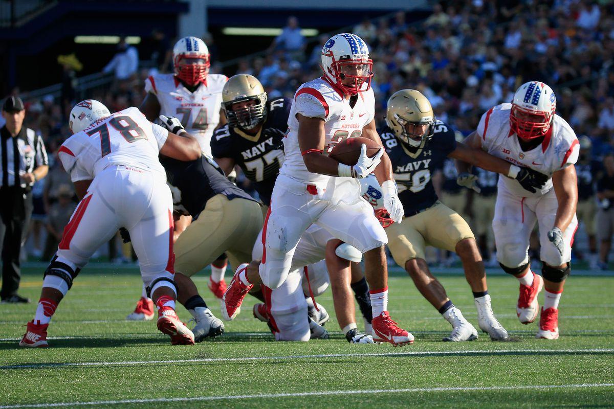 Rutgers v Navy