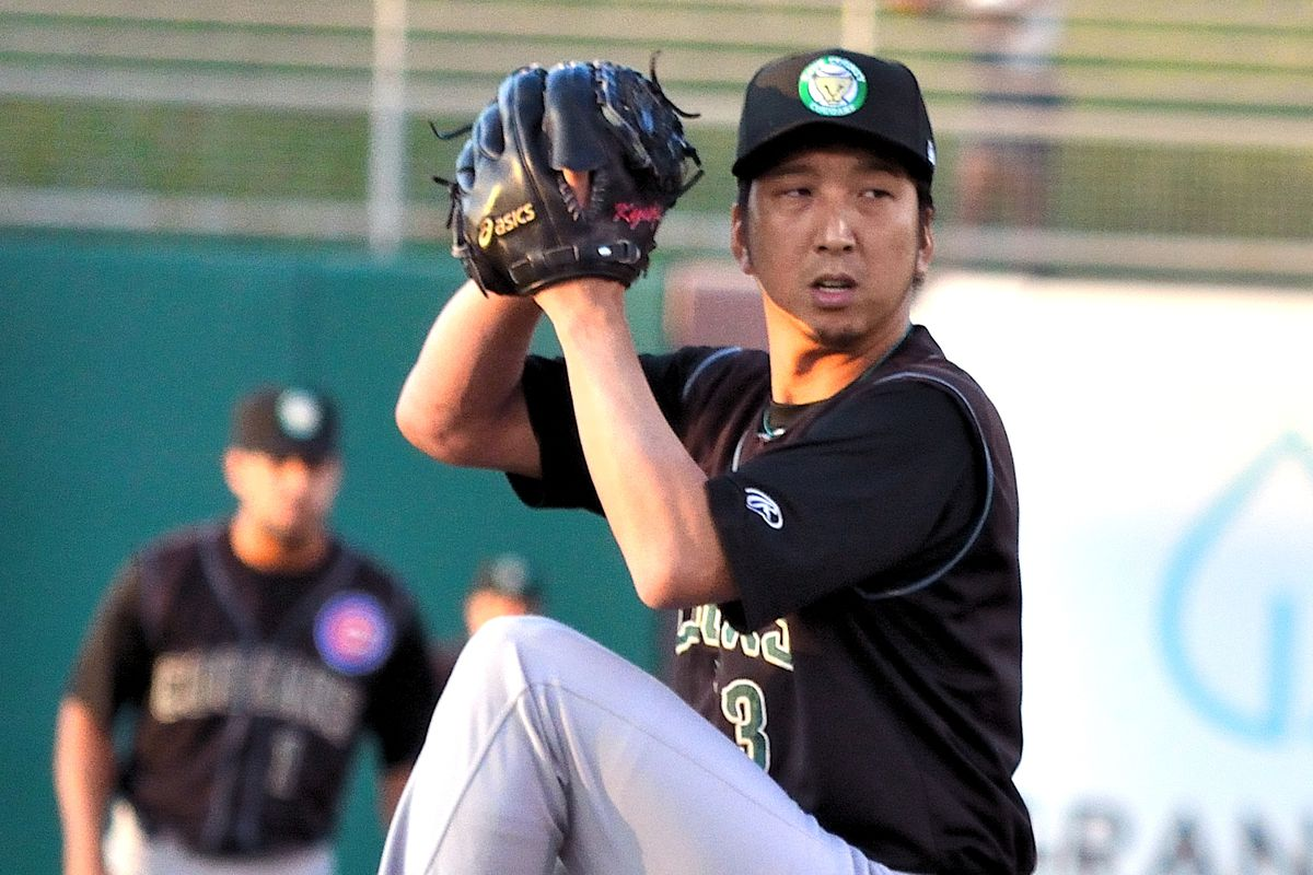Cubs reliever Kyuji Fujikawa on rehab assignment with the Kane County Cougars