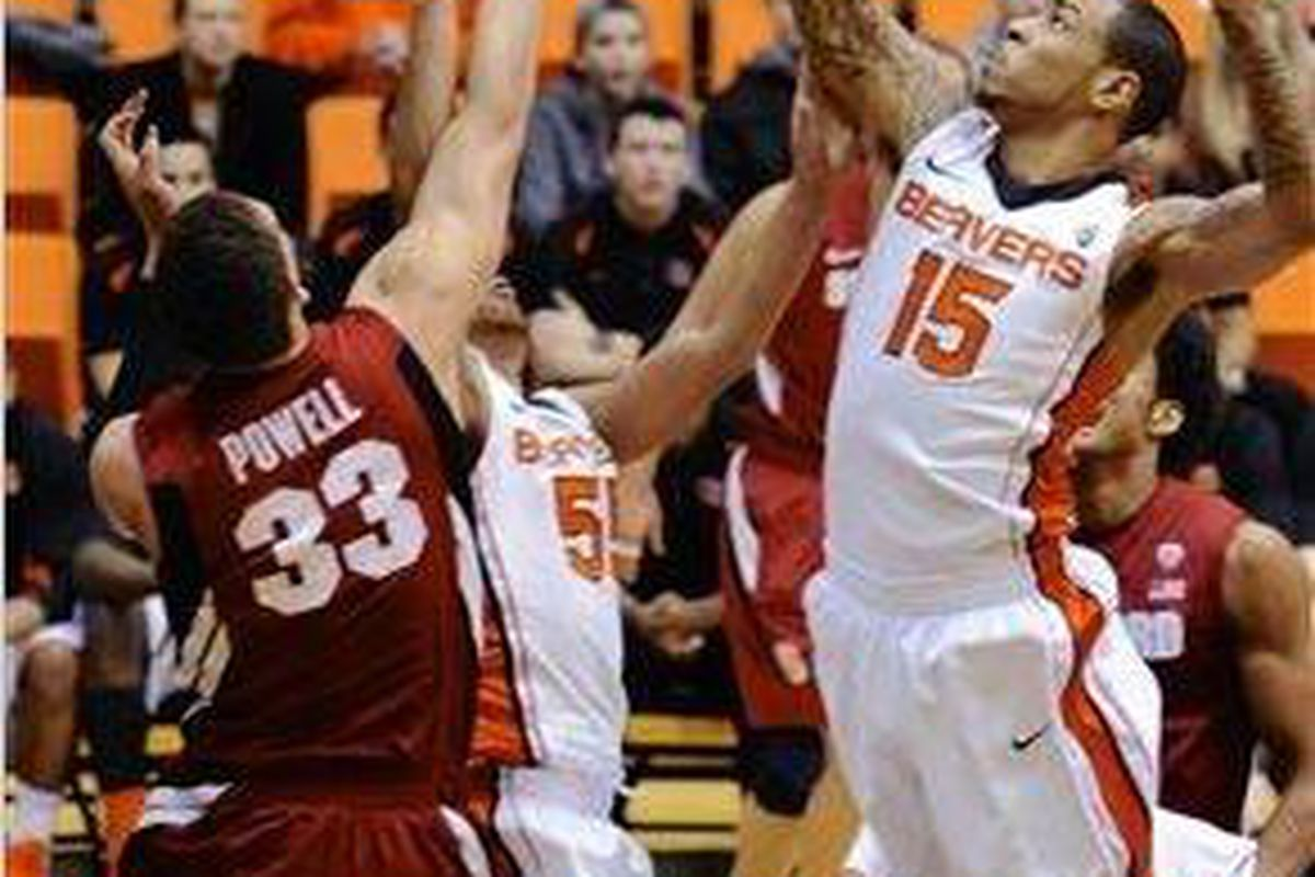 Eric Moreland seeks redemption after a costly technical foul during the Civil War. (Photo by Greg Wahl-Stephens)