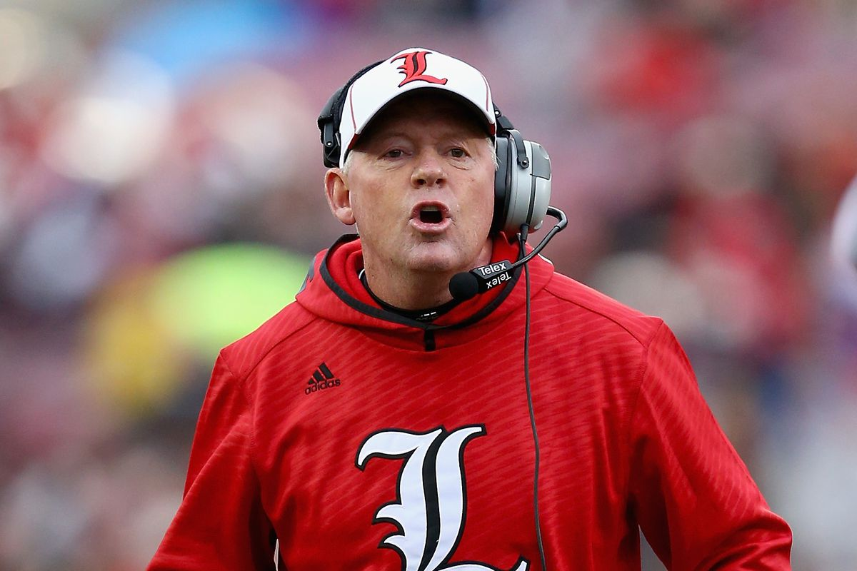 Bobby Petrino was hardly the first coach to pull a ...