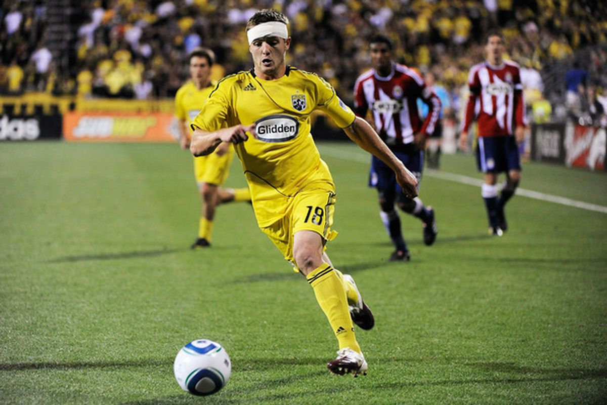 Will THE Robbie Rogers feature against Reading? (Photo by Jamie Sabau/Getty Images)