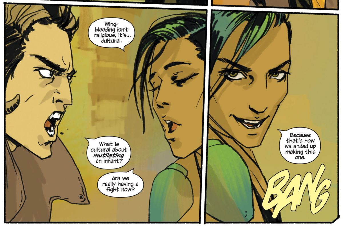 From Saga #1, Image Comics (2012).