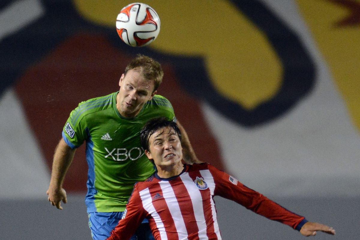 Chad Marshall was one of the top performers in the April 19 win at Chivas USA.