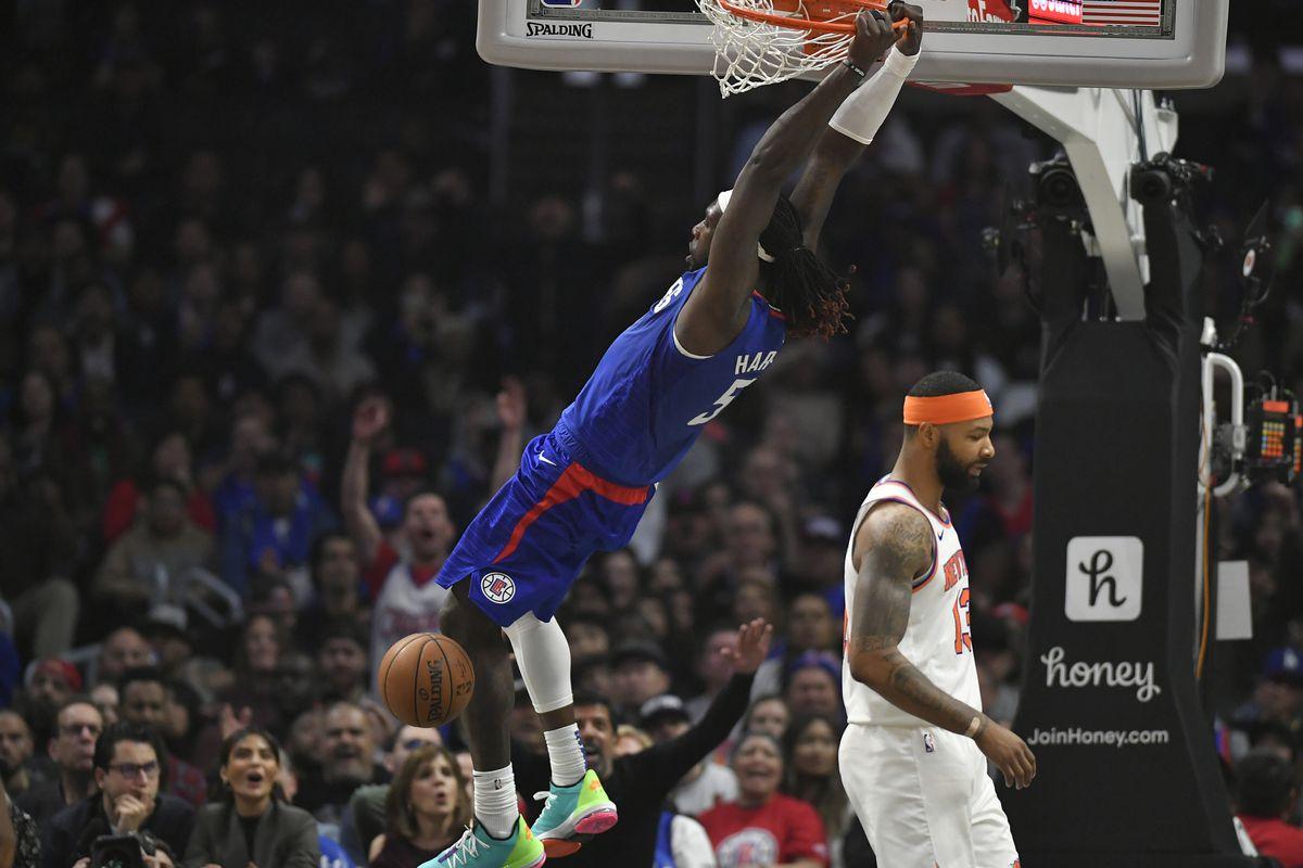 New York Knicks v Los Angeles Clippers