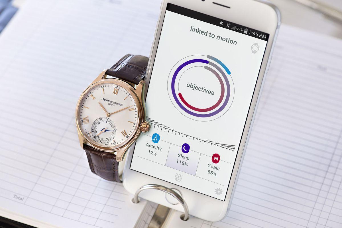 Frederique Constant Horological Smartwatch, 2015 edition