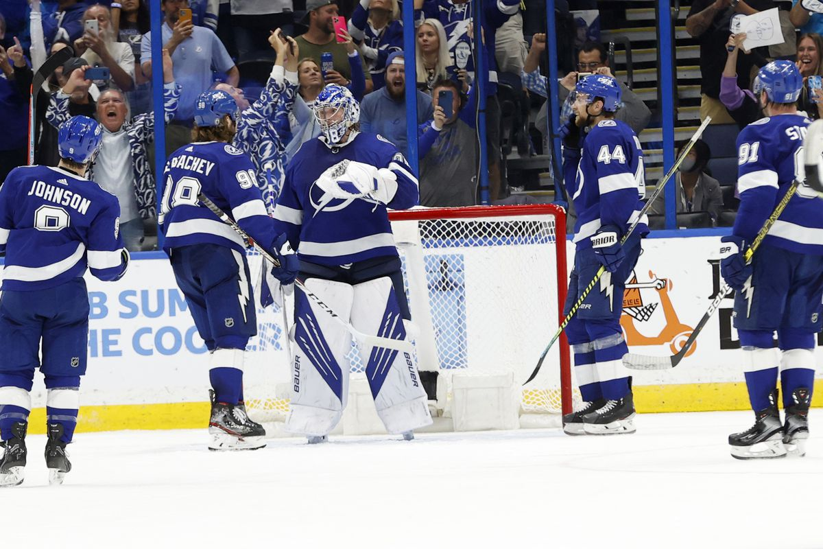 NHL: Stanley Cup Playoffs-Florida Panthers at Tampa Bay Lightning