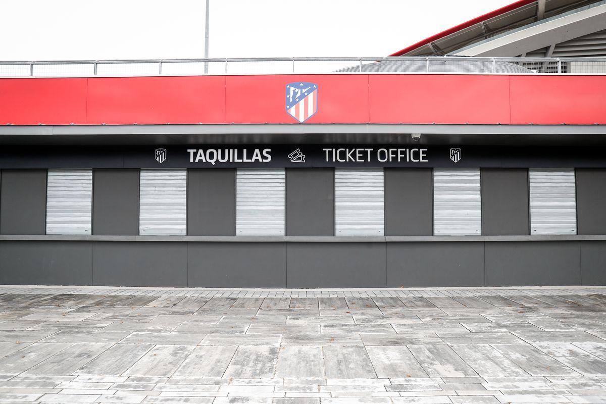 Coronavirus - Wanda Metropolitano Stadium