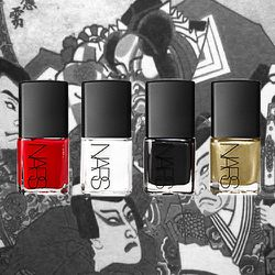 Many of <strong>Nars</strong>' products, including brushes, nail polishes, and eyeshadows, are inspired by the Japanese art of kabuki.
