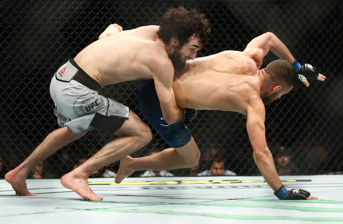 UFC Fight Night 163 mixed martial arts event in Moscow